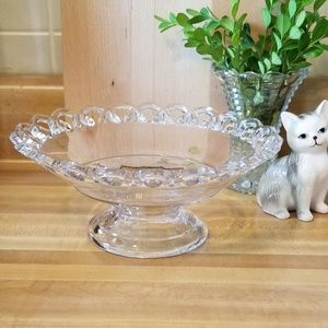 Westmoreland Lace Edge Compote